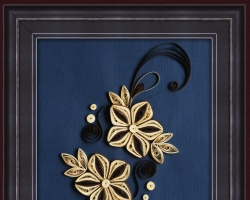 Quilling Wall Hanging 05
