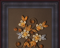 Quilling Wall Hanging 01