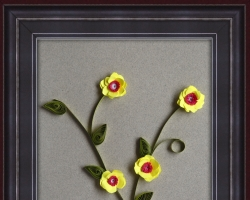Quilling Wall Hanging 11