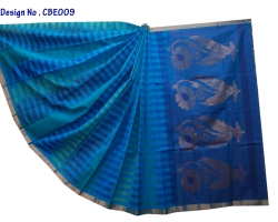 Ananda Blue Silk Cotton...