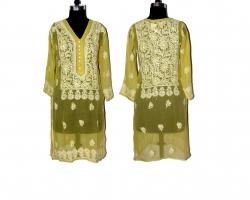Designer Chikankari Meh...