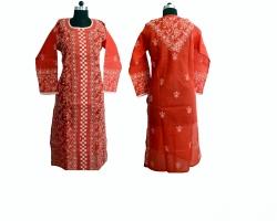 Designer Chikankari Bri...